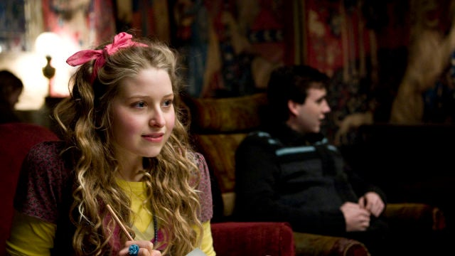 Jessie Caves como Lavender Brown en 'Harry Potter'