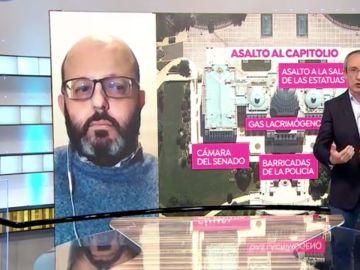 Fernando Cocho, experto en seguridad, habla sobre el asalto al Capitolio de EEUU