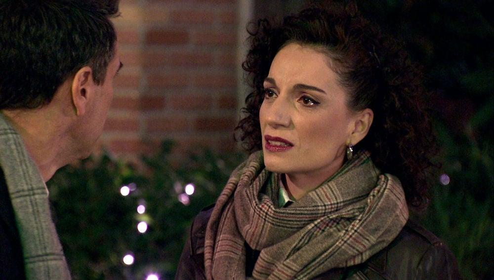 """Estefanía, desesperada a Abel: """"Todo lo que siento por ti es verdad"""""""