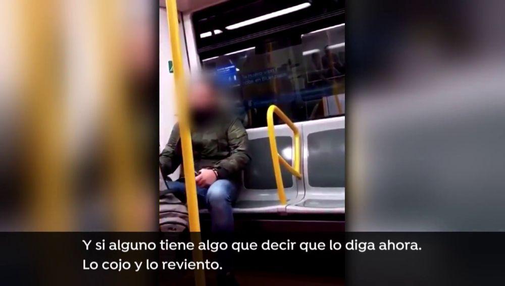 Insultos racista a una mujer en el metro de Madrid