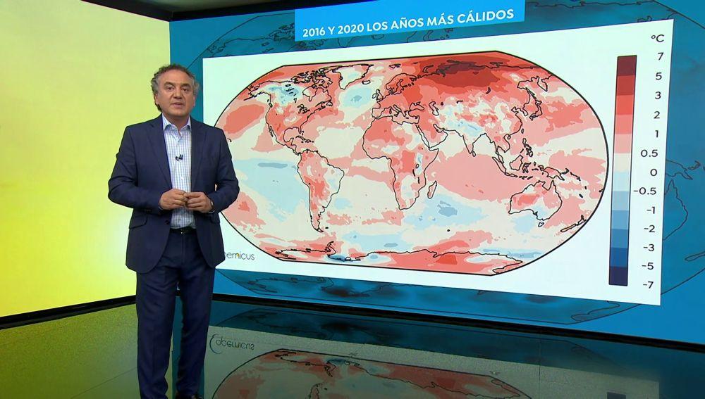 2020 empata con 2016 y se convierte en el año más cálido de la historia
