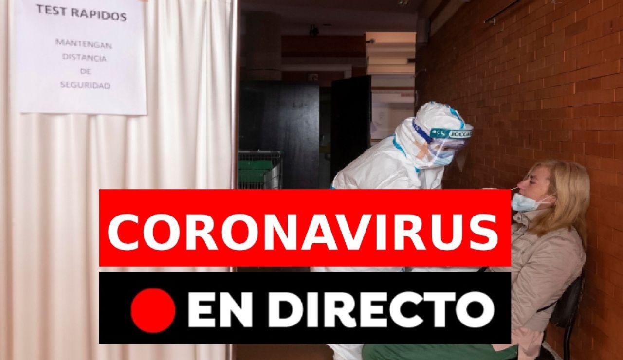 Coronavirus en España: vacunación, última hora y restricciones, en directo