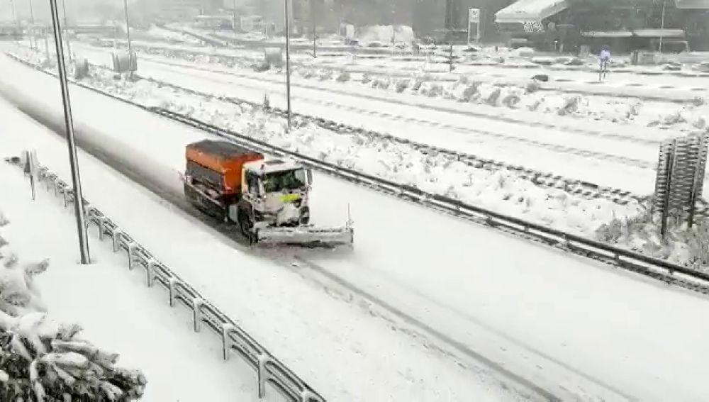 Estado de las carreteras en España por el temporal de nieve y frío de Filomena, streaming en directo