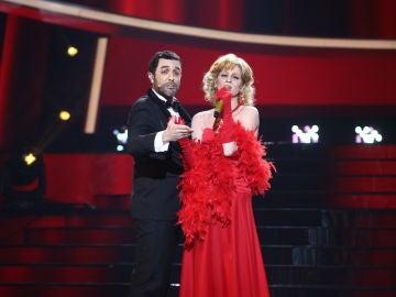 Roberto Leal y Samantha Gilabert