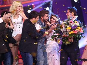 Jorge González cumple su sueño y gana la octava edición de 'Tu cara me suena'