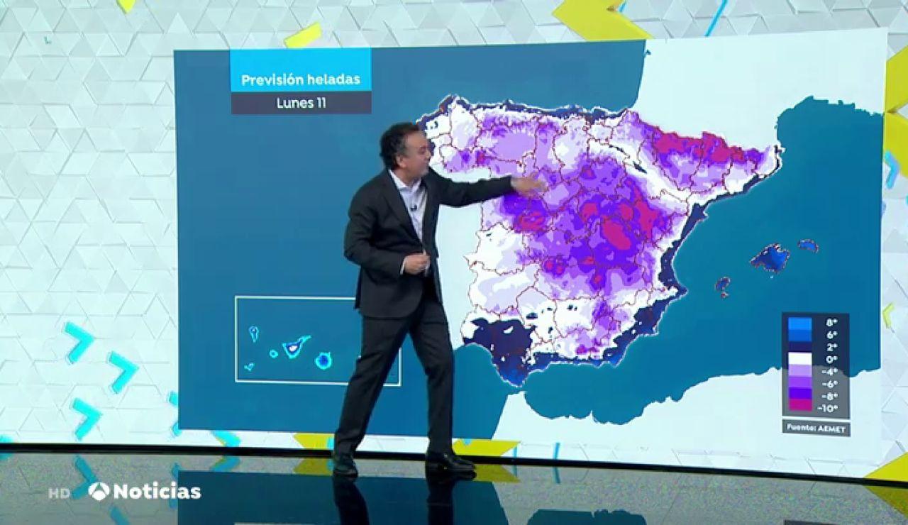 ¿Cuándo dejará de nevar en Madrid por el temporal Filomena? Roberto Brasero te lo explica