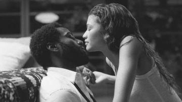 Zendaya y John David Washington en 'Malcolm & Marie'