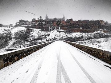 Toledo sigue esperando la llegada de la UME mientras Filomena provoca el desplome de dos pabellones deportivos