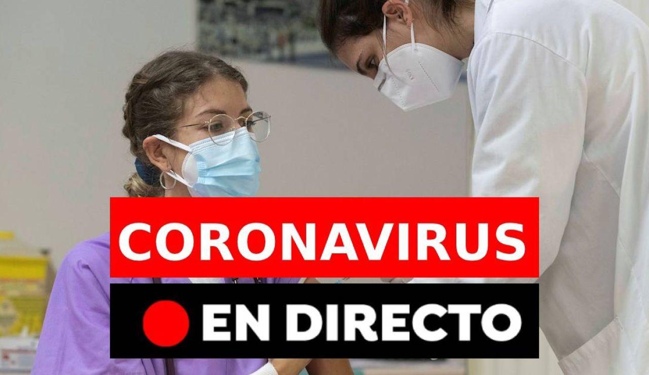 Coronavirus en España hoy: Restricciones, vacuna y última hora, en directo