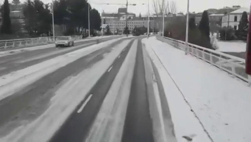 Unionistas de Salamanca, obligado a hacer 500 km por carretera en pleno temporal para jugar en Ferrol