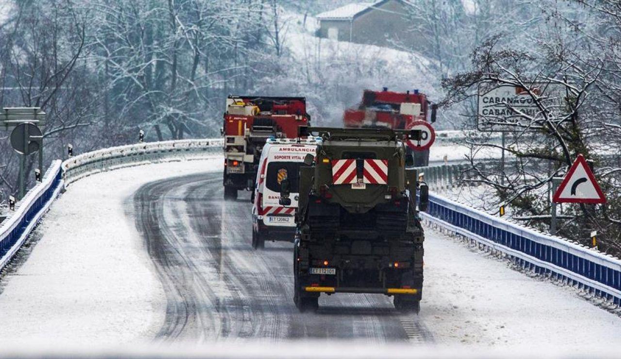 El temporal se desplaza al noroeste, obliga a Aragón a cerrar colegios y deja sin luz a 17 municipios catalanes