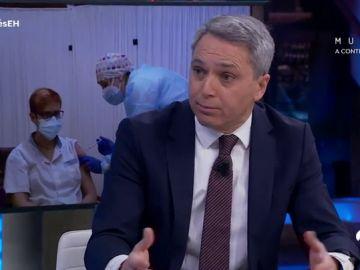 """""""Arrancar no es fácil"""", Vicente Vallés optimista ante el plan de vacunación contra el coronavirus"""