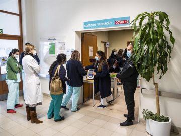 Vacunación contra el coronavirus en Portugal