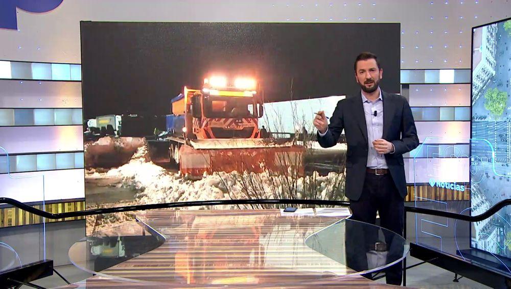 Entrevista a Javier, camionero atrapado por el temporal de nieve