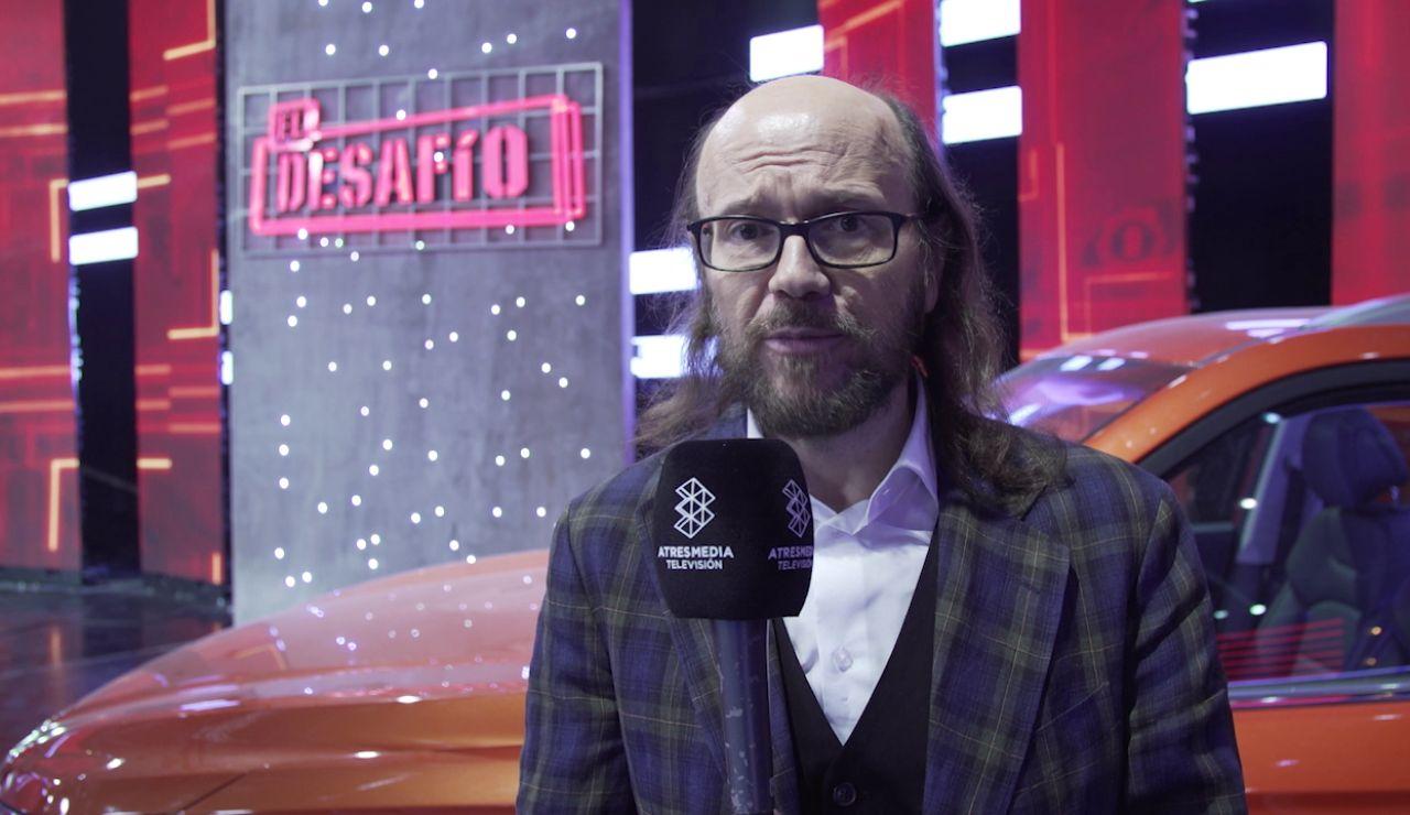 """Santiago Segura: """"En este país falta gente que haga cosas, por eso me gustan los concursantes de 'El Desafío'"""""""