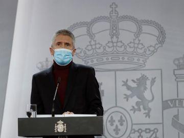 El ministro de Interior, Fernando Grande Marlaska