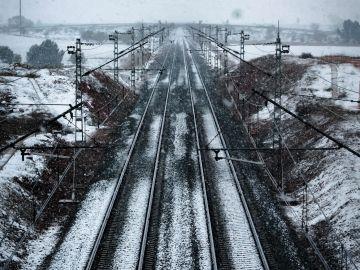 Vías de tren Puente de San Isidro