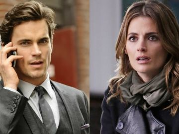 Matt Bomer en 'White Collar' y Stana Katic en 'Castle'