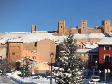 """El alcalde de Molina de Aragón tras el récord de frío de 25 grados bajo cero: """"Se congelan las pestañas"""""""