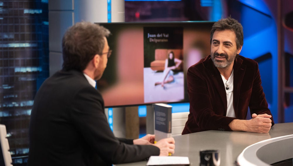 """""""Desde luego podría ser"""", la respuesta de Juan del Val ante una posible amenaza de paliza"""