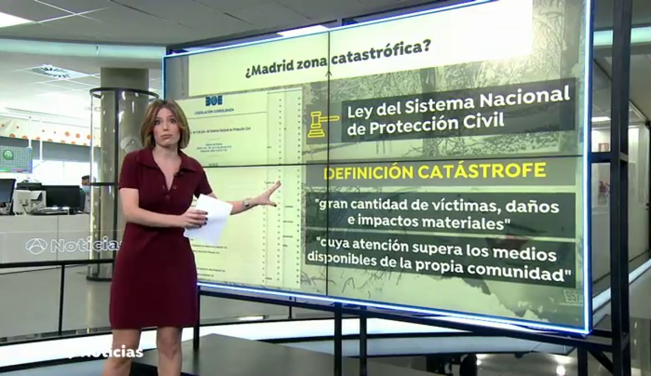 ¿Cumple Madrid los requisitos para ser declarada zona catastrófica tras el paso del temporal Filomena?