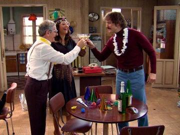 Justo, Cristina y Galán celebran el Año Nuevo con buenas noticias