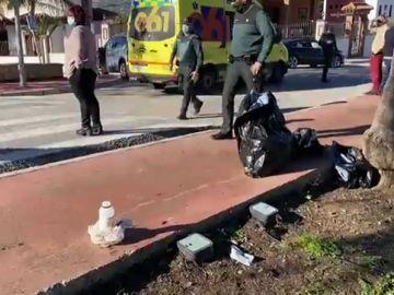 Un hombre arroja ácido a la cara de su novia y de una amiga en Cártama, Málaga