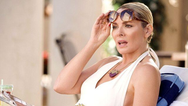 Kim Cattrall como Samantha en 'Sexo en Nueva York'