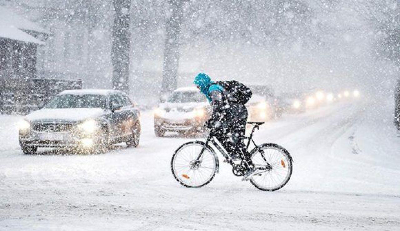 Ola de frío en Dinamarca