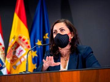 La presidenta de La Rioja, Concha Andreu.