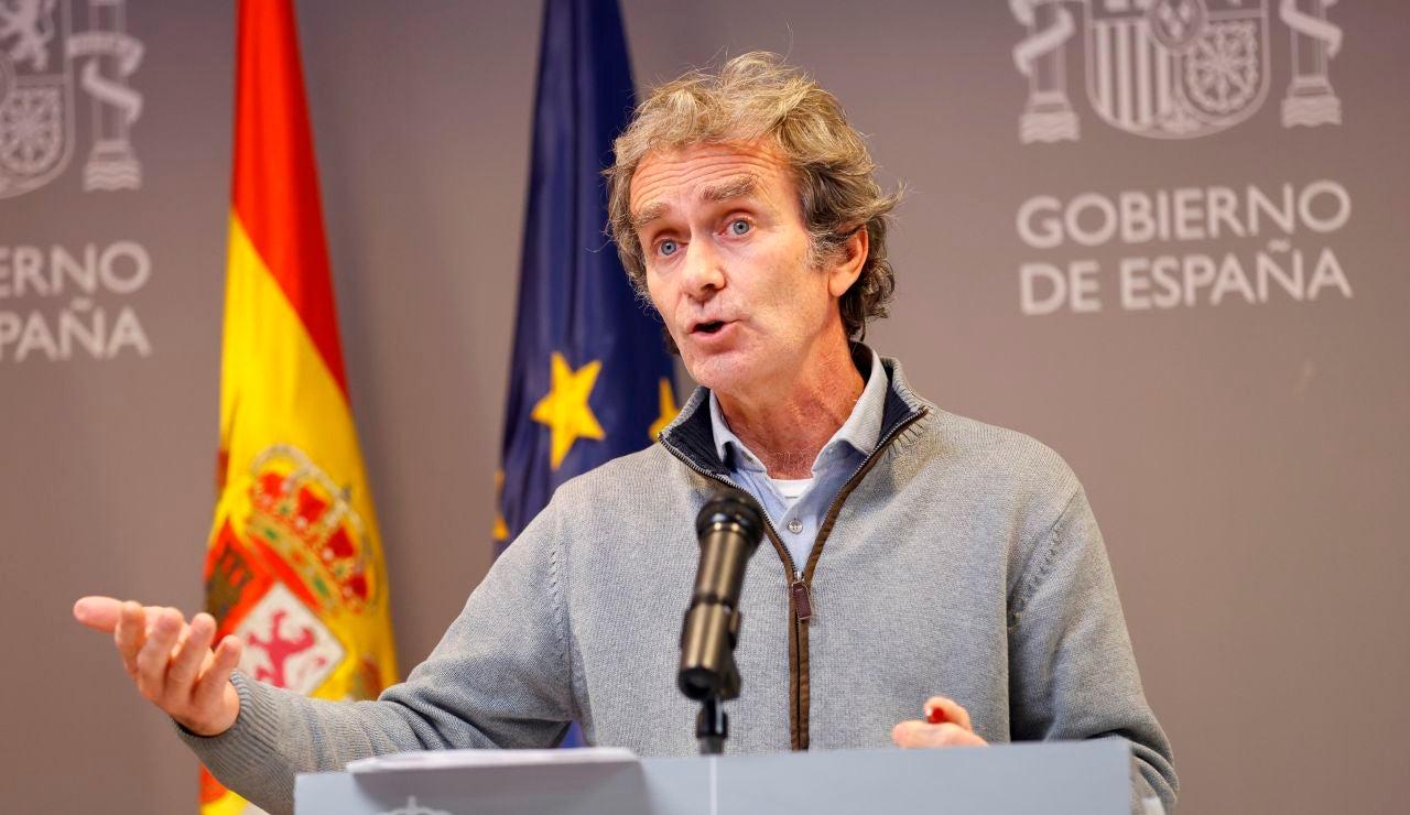 Criticas a Fernando Simón sobre la cepa británica en España