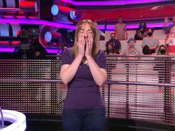 Montse presume en '¡Ahora caigo!' de su afición por gritar: ¡llegó a ganar un concurso!