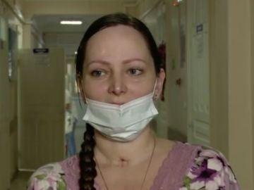 Oksana, embarazada rusa con coronavirus