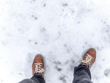 Caminar sobre el hielo