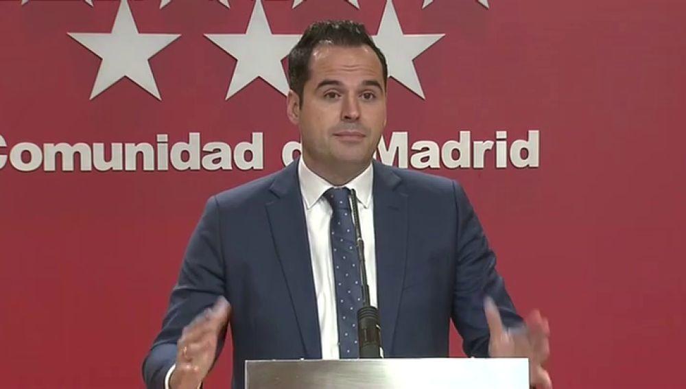 Ignacio Aguado, vicepresidente Comunidad de Madrid