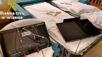 Detenido por destrozar dos televisores y un secador del hotel en el que se alojaba en Gran Canaria
