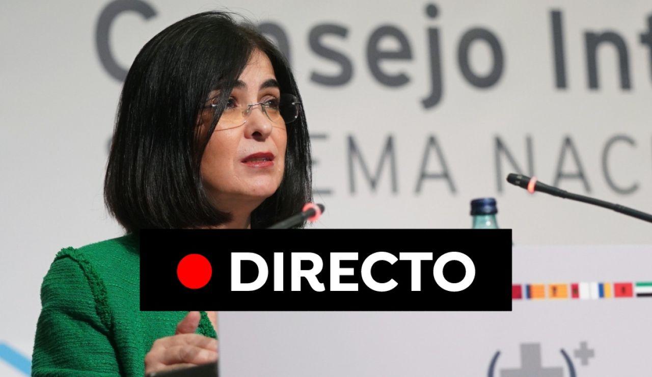 Coronavirus España: Carolina Darias, nueva ministra de Sanidad, nuevas restricciones y última hora