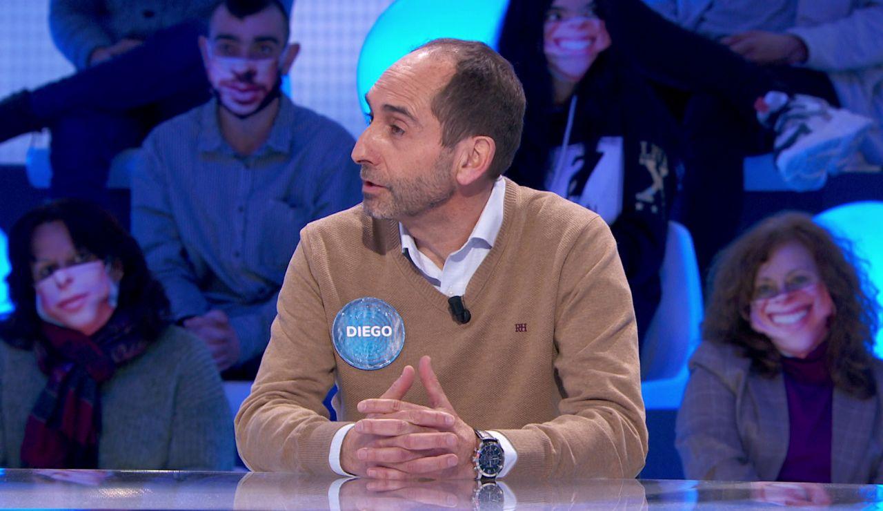 """""""Como Garbiñe Muguruza cuando ganó a Serena Williams"""", así se siente Diego tras ganar a Luis en 'Pasapalabra'"""
