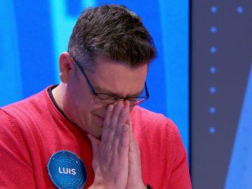 Las lágrimas de Luis en su 'hasta luego' a 'Pasapalabra'