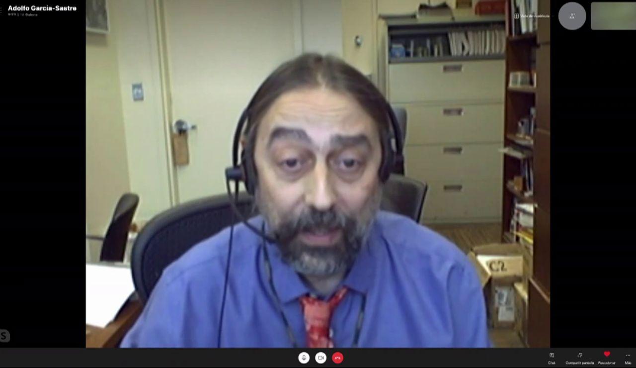 Adolfo García Sastre, catedrático en Microbiología del Hospital Monte Sinaí