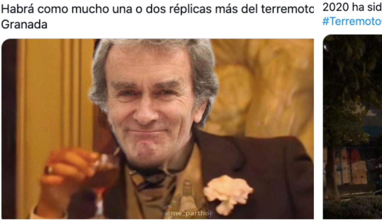 Memes terremoto Granada