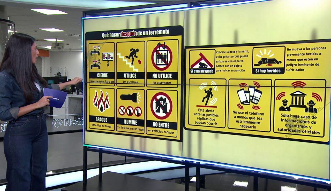 ¿Qué hacer en caso de terremoto? 4 consejos para saber cómo actuar antes, durante y después