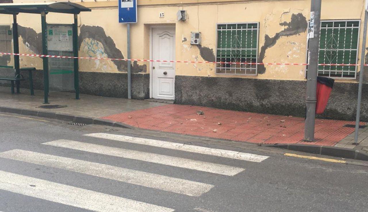 Terremotos en Granada causan desprendimiento de fachadas