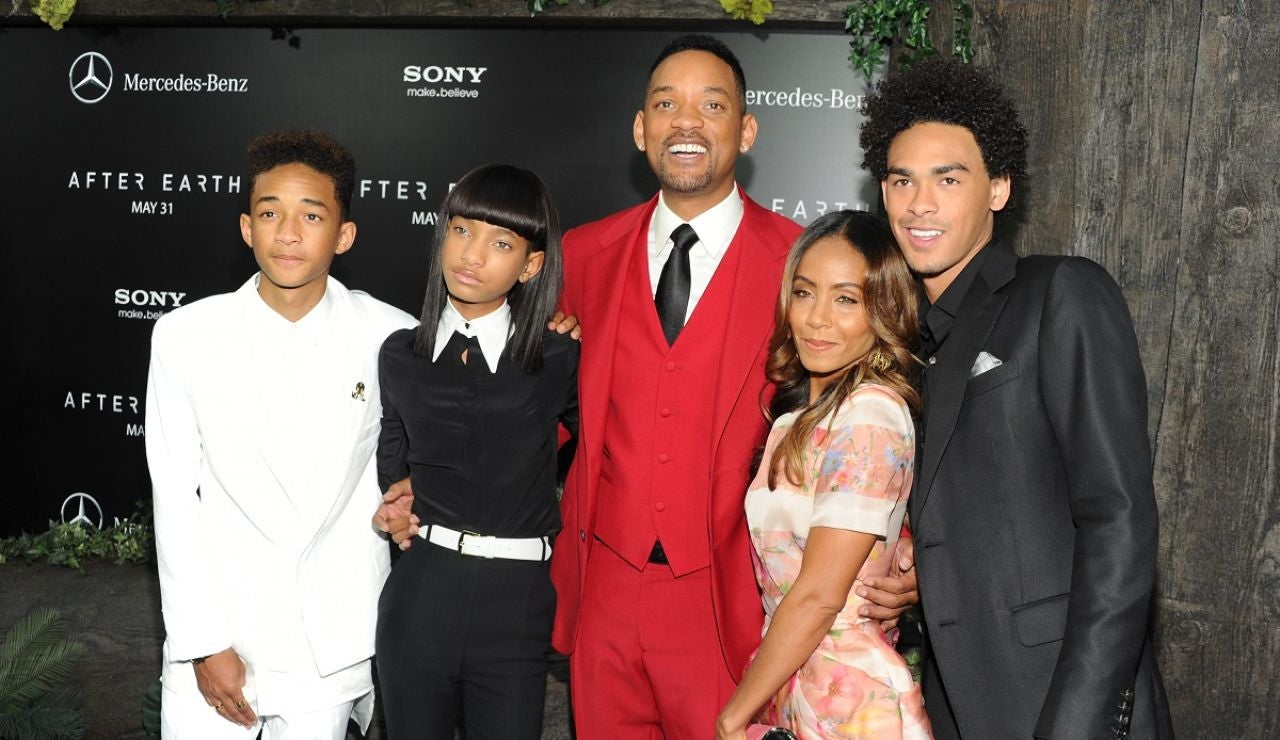 Jada Pinkett, Will Smith y sus hijos
