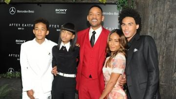Jada Pinkett, Will Smith y sus hijos
