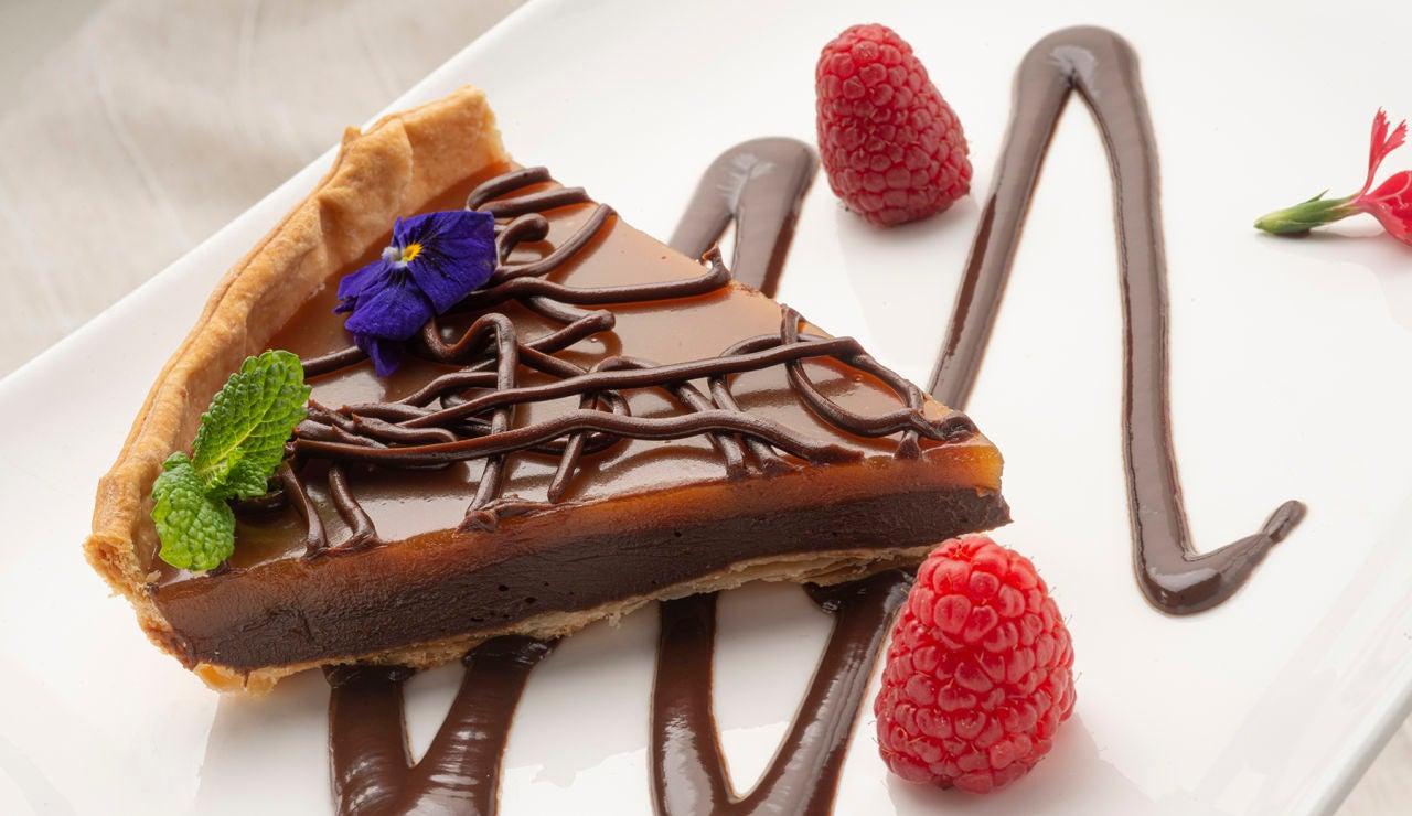 """Receta de tarta de chocolate y toffe """"súper fácil"""""""