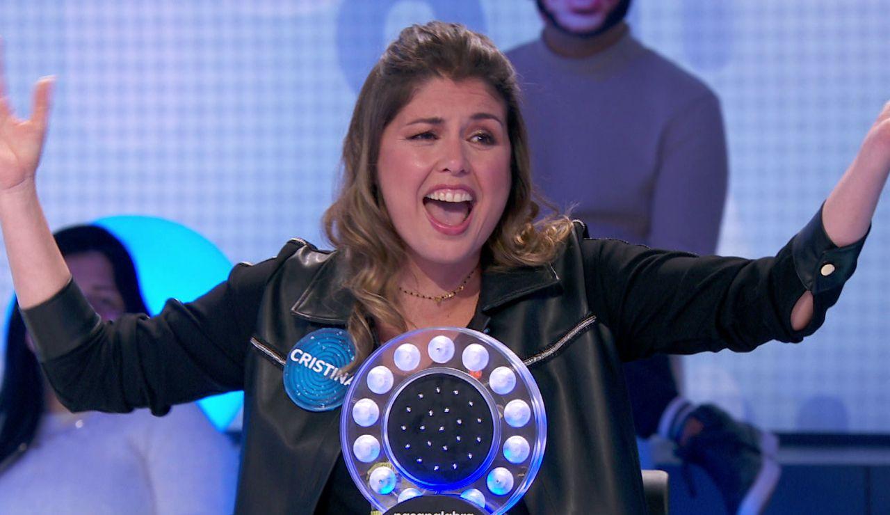 Cristina Ramos repite su estreno en 'Tu cara me suena' al ritmo de Mónica Naranjo