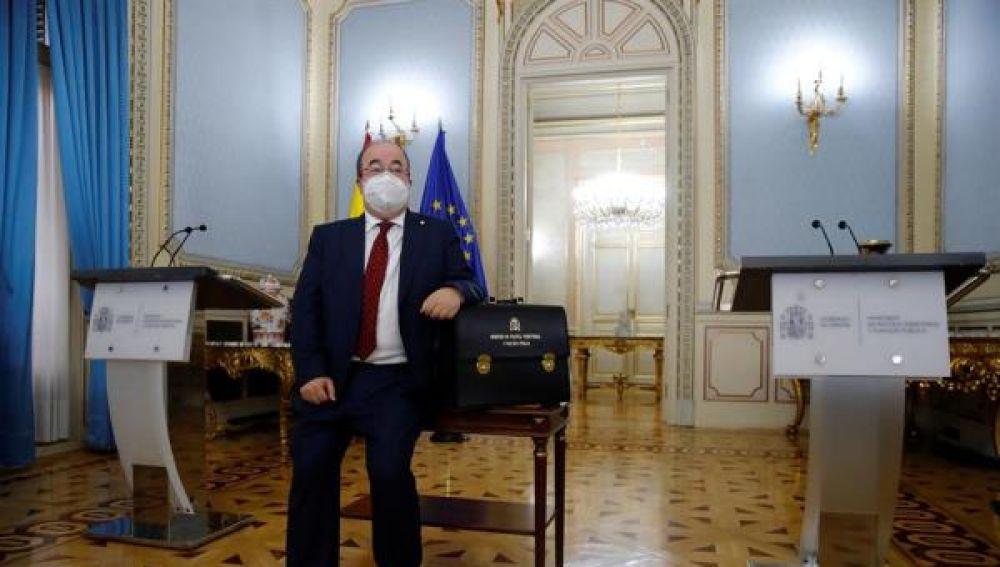 Miquel Iceta recibe la cartera de Política Territorial