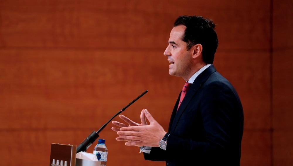 Ignacio Aguado, vicepresidente de la Comunidad de Madrid.