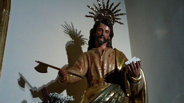 San Judas Tadeo. Iglesia de Nuestra Señora de Gracia, Sevilla